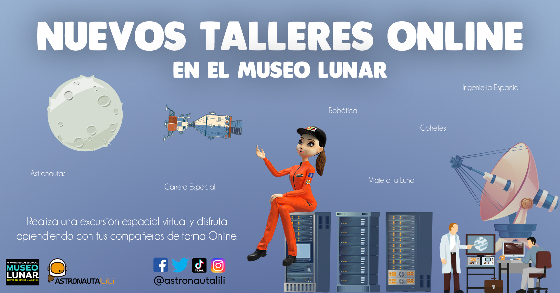 Museo_Lunar_taller_online_astronauta_lili_excursion_Virtual